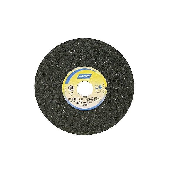 Caixa com 3 Rebolo Metal Duro Carbeto de Silício Verde Reto 203,20 x 25,40 x 31,75 mm 39C80KVK