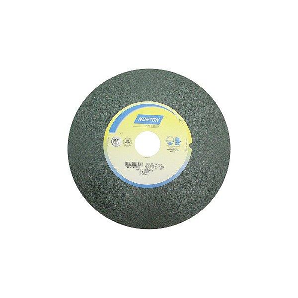 Rebolo Metal Duro Carbeto de Silício Verde Reto 254 x 25,40 x 38,10 mm 39C100KVK Caixa com 1