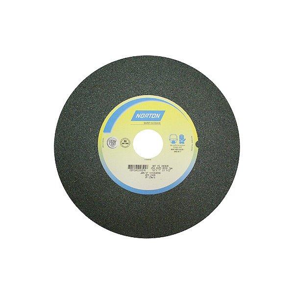 Caixa com 1 Rebolo Metal Duro Carbeto de Silício Verde Reto 254 x 25,40 x 38,10 mm 39C60KVK