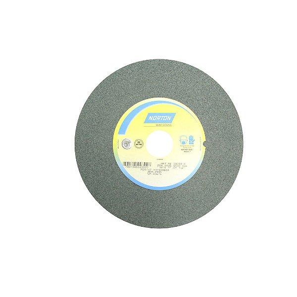 Caixa com 1 Rebolo Metal Duro Carbeto de Silício Verde Reto 254 x 25,40 x 38,10 mm 39C80KVK