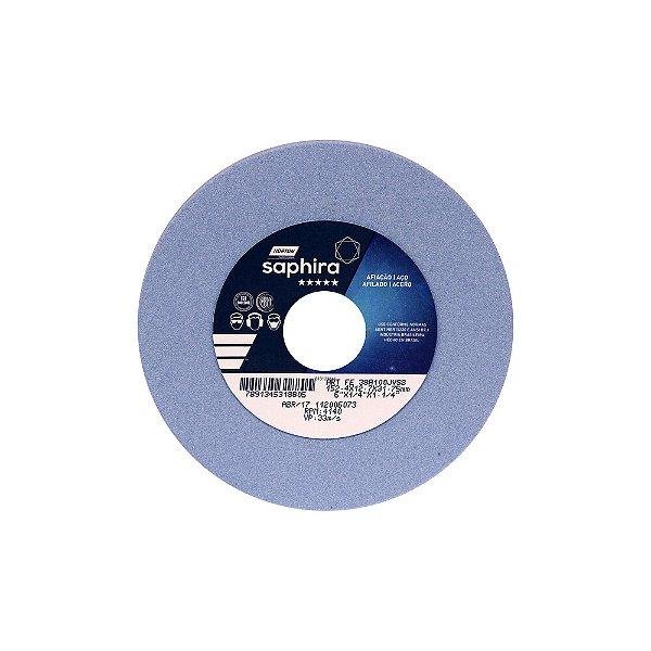Caixa com 1 Rebolo Saphira Ferramentaria Premium Óxido de Alumínio Cerâmico Reto 152,40 x 12 x 70 x 31,75 mm 38A100-JVS3