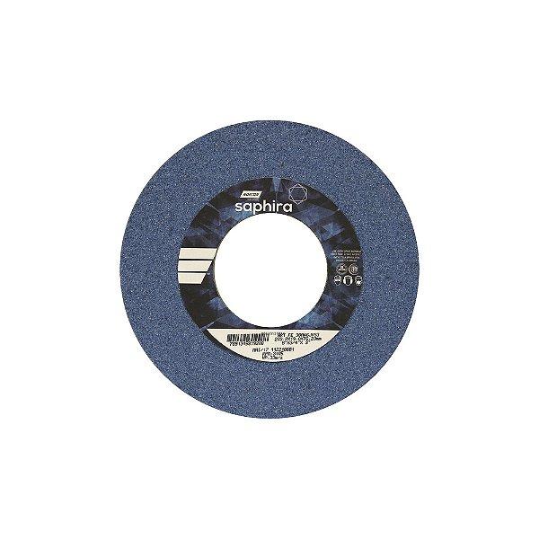 Rebolo Saphira Ferramentaria Premium Óxido de Alumínio Cerâmico Reto 203,20 x 19 x 76,20 mm 38A46JVS3 Caixa com 3