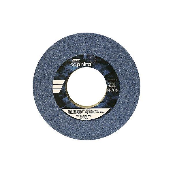 Caixa com 3 Rebolo Saphira Ferramentaria Premium Óxido de Alumínio Cerâmico Reto 203,20 x 25,40 x 76,20 mm 38A46JVS3