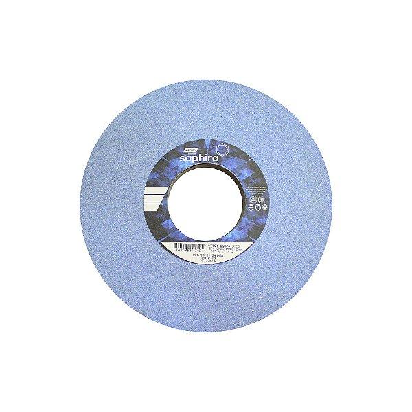 Caixa com 1 Rebolo Saphira Ferramentaria Premium Óxido de Alumínio Cerâmico Reto 254 x 25,4 x 76,2 mm 5NQ60-JVS3