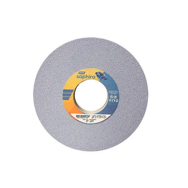 Caixa com 1 Rebolo Saphira Ferramentaria Premium Óxido de Alumínio Cerâmico Reto 254 x 31,8 x 76,2 mm 5NQ46-JVS3