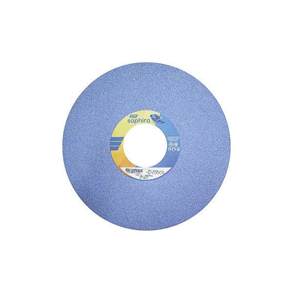 Caixa com 1 Rebolo Saphira Ferramentaria Premium Óxido de Alumínio Cerâmico Reto 304,8 x 25,4 x 76,2 mm 5NQ46-JVS3