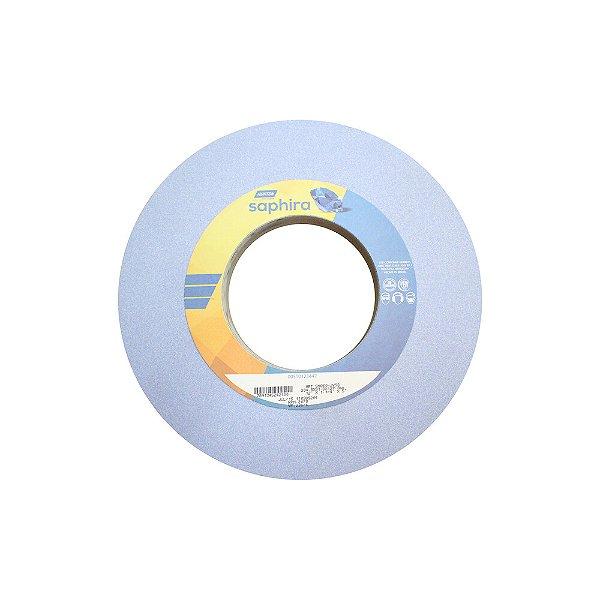Caixa com 1 Rebolo Saphira Ferramentaria Premium Óxido de Alumínio Cerâmico Reto 304,8 x 31,80 x 127 mm 5NQ60-JVS3