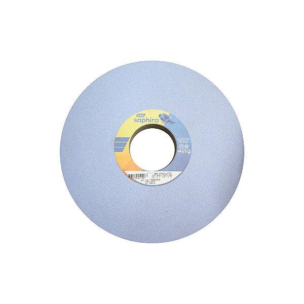Caixa com 1 Rebolo Saphira Ferramentaria Premium Óxido de Alumínio Cerâmico Reto 304,8 x 31,80 x 76,2 mm 5NQ60-JVS3