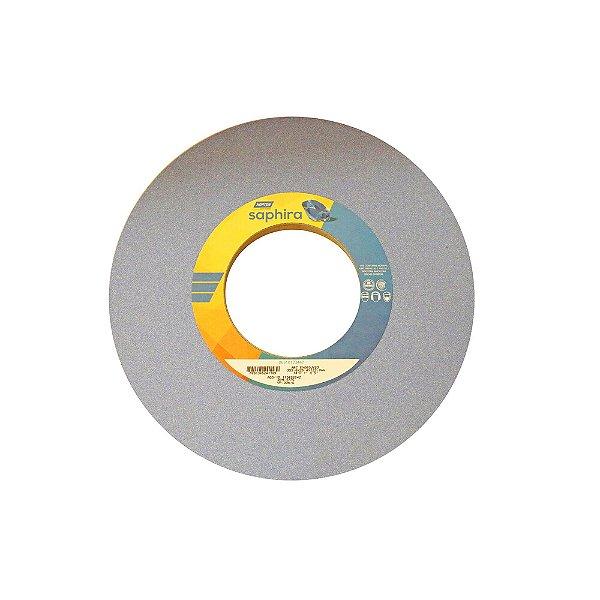 Caixa com 1 Rebolo Saphira Ferramentaria Premium Óxido de Alumínio Cerâmico Reto 355,6 x 25,4 x 127 mm 5NQ60-JVS3