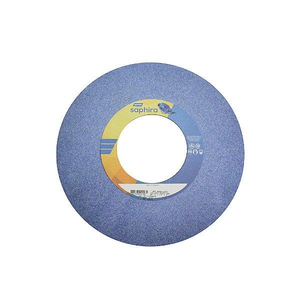 Caixa com 1 Rebolo Saphira Ferramentaria Premium Óxido de Alumínio Cerâmico Reto 355,6 x 31,8 x 127 mm 5NQ46-JVS3