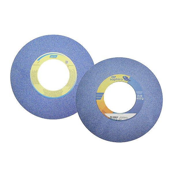 Rebolo Saphira Ferramentaria Premium Óxido de Alumínio Cerâmico Reto 355,6 x 31,8 x 127 mm 5NQ46-JVS3 Caixa com 1