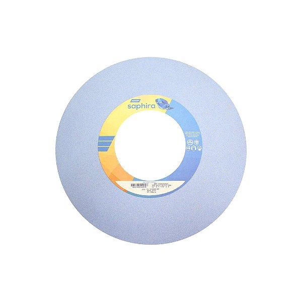 Caixa com 1 Rebolo Saphira Ferramentaria Premium Óxido de Alumínio Cerâmico Reto 355,6 x 31,8 x 127 mm 5NQ60-JVS3