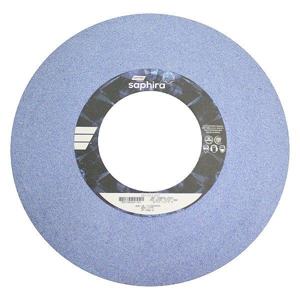 Caixa com 3 Rebolo Saphira Ferramentaria Premium Óxido de Alumínio Cerâmico Reto 355,6 x 38,1 x 127 mm 5NQ46JVS3