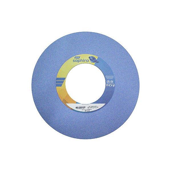 Caixa com 1 Rebolo Saphira Ferramentaria Premium Óxido de Alumínio Cerâmico Reto 355,6 x 38,1 x 127 mm 5NQ60-JVS3
