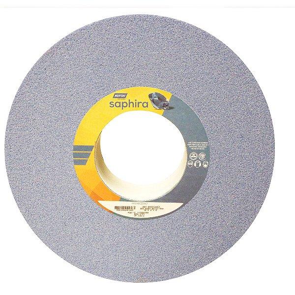 Caixa com 1 Rebolo Saphira Ferramentaria Premium Óxido de Alumínio Cerâmico Reto 355,6 x 50,8 x 127 mm 5NQ60-JVS3