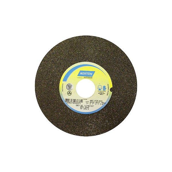 Caixa com 3 Rebolo Uso Geral Desbaste de Metal Óxido de Alumínio Marrom Reto 177,80 x 19 x 31,75 mm A24RVS