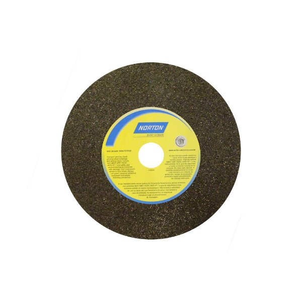Rebolo Uso Geral Desbaste de Metal Óxido de Alumínio Marrom Reto 177,80 x 19 x 31,75 mm A24RVS Caixa com 3