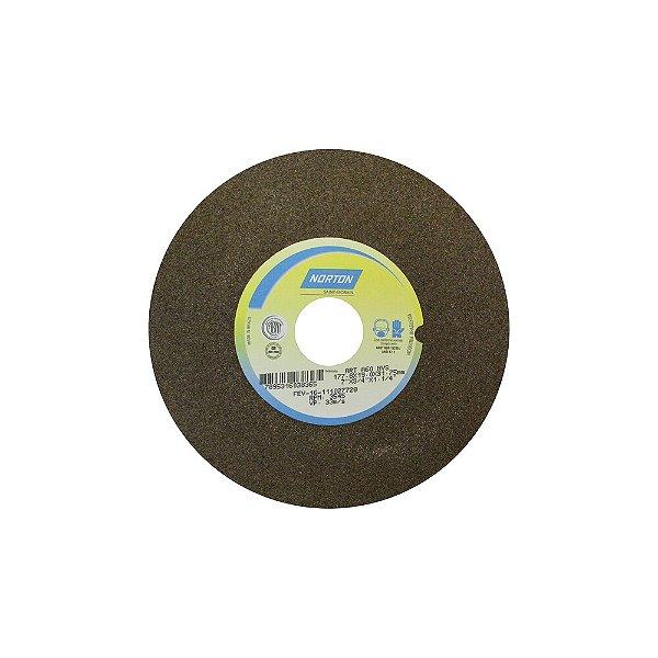 Caixa com 3 Rebolo Uso Geral Desbaste de Metal Óxido de Alumínio Marrom Reto 177,80 x 19 x 31,75 mm A60NVS