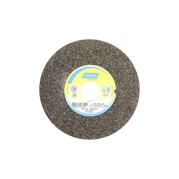 Caixa com 3 Rebolo Uso Geral Desbaste de Metal Óxido de Alumínio Marrom Reto 177,80 x 25,40 x 31,75 mm A36QVS