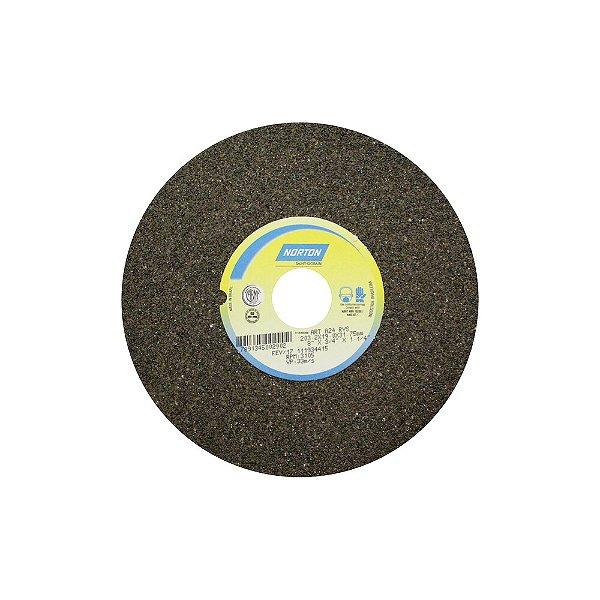 Caixa com 3 Rebolo Uso Geral Desbaste de Metal Óxido de Alumínio Marrom Reto 203,20 x 19 x 31,75 mm A24RVS