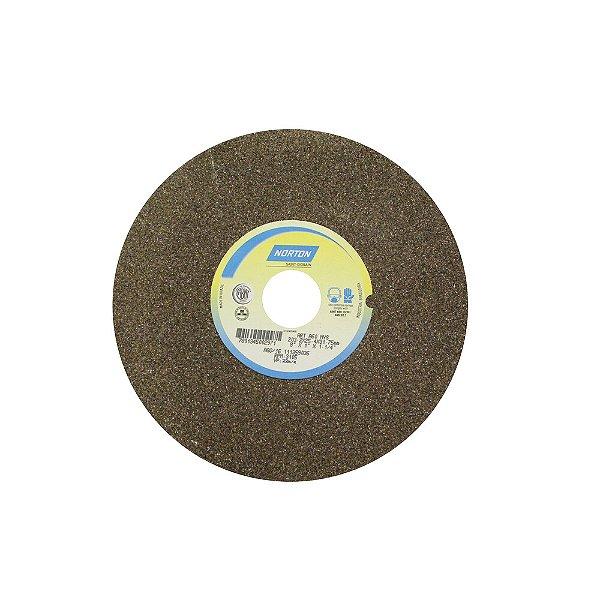 Caixa com 3 Rebolo Uso Geral Desbaste de Metal Óxido de Alumínio Marrom Reto 203,20 x 25,40 x 31,75 mm A60NVS