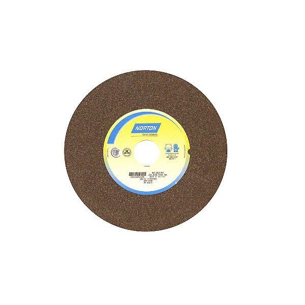 Caixa com 1 Rebolo Uso Geral Desbaste de Metal Óxido de Alumínio Marrom Reto 254 x 25,40 x 38,10 mm A60NVS