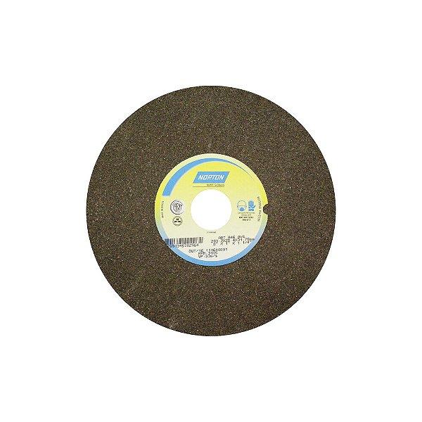 Caixa com 1 Rebolo Uso Geral Desbaste de Metal Óxido de Alumínio Marrom Reto 254 x 31,80 x 38,10 mm A46OVS