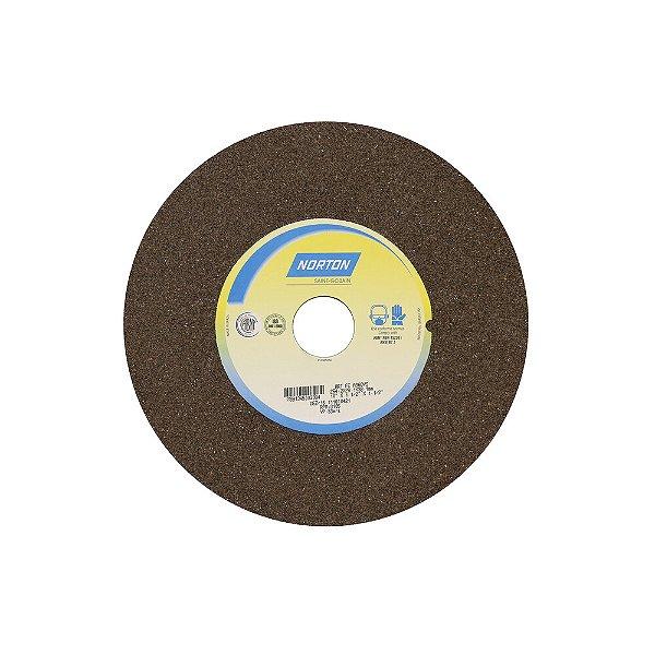 Caixa com 1 Rebolo Uso Geral Desbaste de Metal Óxido de Alumínio Marrom Reto 254 x 38,10 x 38,10 mm A36QVS