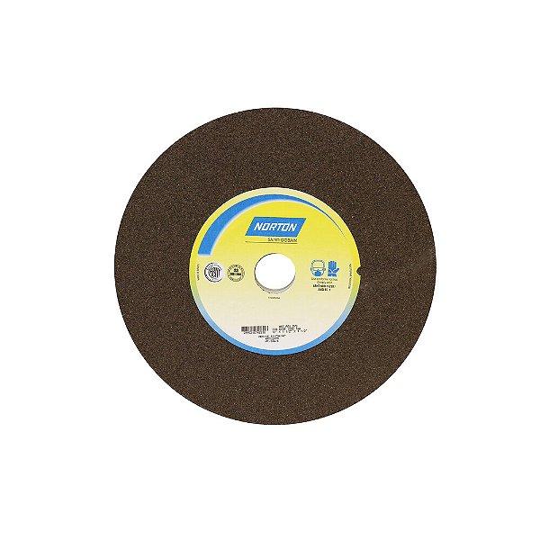 Caixa com 1 Rebolo Uso Geral Desbaste de Metal Óxido de Alumínio Marrom Reto 304,80 x 38,10 x 38,10 mm A60NVS