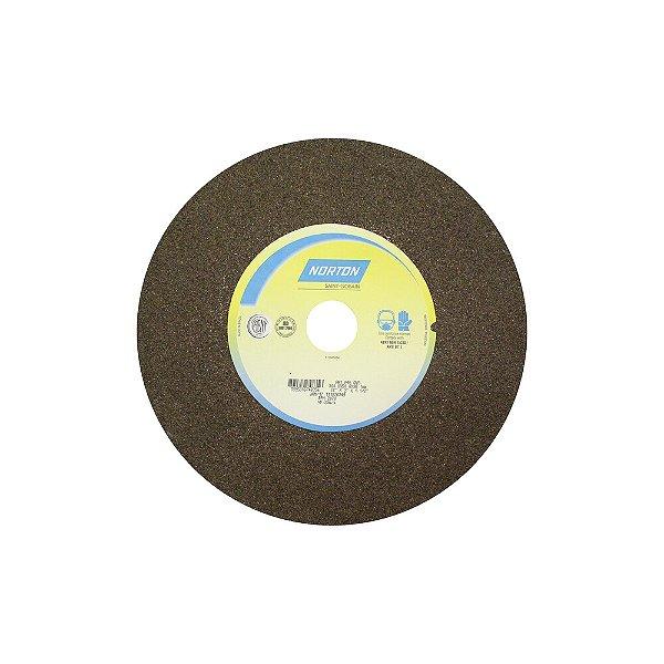 Rebolo Uso Geral Desbaste de Metal Óxido de Alumínio Marrom Reto 304,80 x 50,80 x 38,10 mm A46OVS Caixa com 1