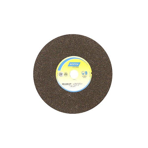 Rebolo Uso Geral Desbaste de Metal Óxido de Alumínio Marrom Reto 355,6 x 50,8 x 38,10 mm ART A24 RVS Caixa com 1