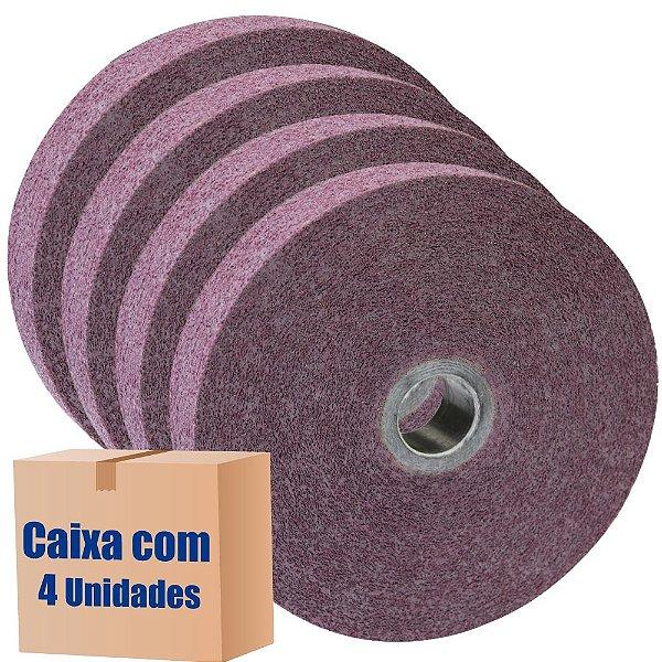 Caixa com 4 Roda Convoluta GP Densidade 1-9 SF 152 x 25 x 25,4 mm