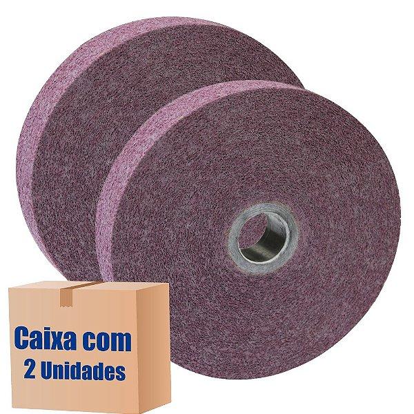 Caixa com 2 Roda Convoluta GP 1 Densidade 9 SF 152 x 50 x 25,4 mm