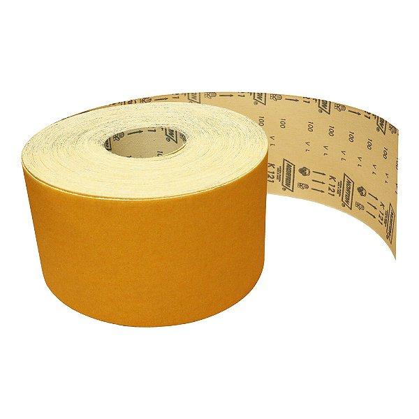 Pacote com 1 Rolo de Lixa Adalox Pano K121 Grão 100 Rolo 120 x 45 m
