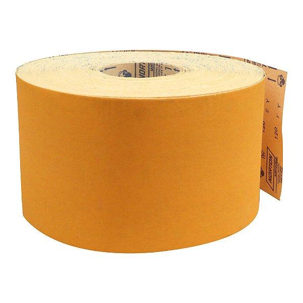Pacote com 1 Rolo de Lixa Adalox Pano K121 Grão 120 Rolo 120 x 45 m