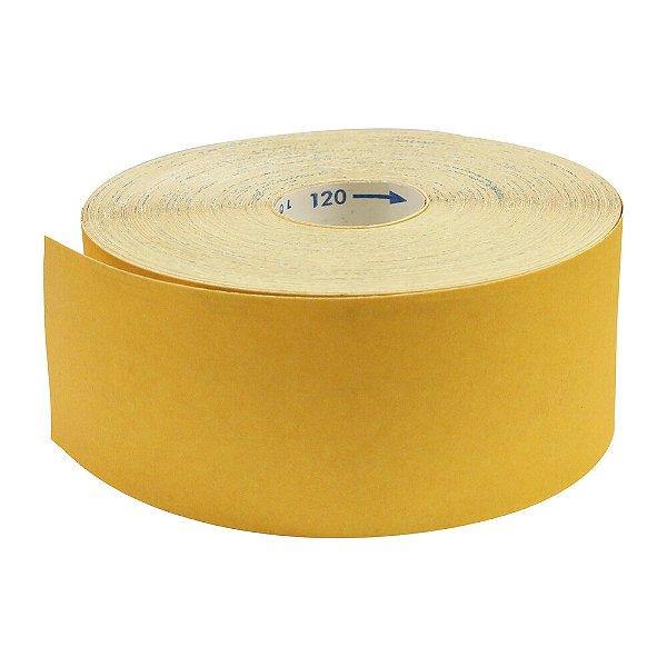 Pacote com 1 Rolo de Lixa Adalox Papel G125 Grão 120 Rolo 120 x 100 m