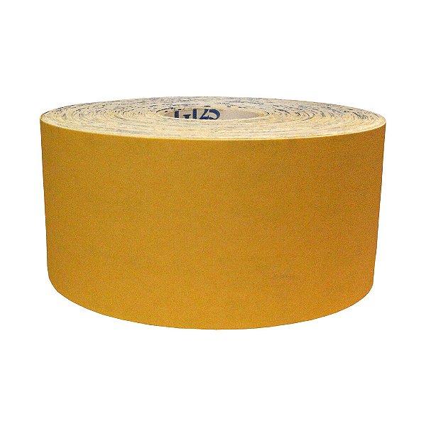 Pacote com 1 Rolo de Lixa Adalox Papel G125 Grão 150 Rolo 120 x 100 m