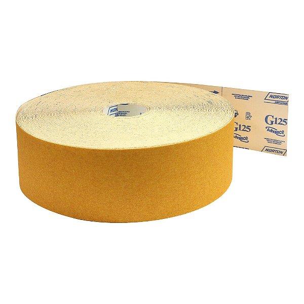 Rolo de Lixa Adalox Papel G125 Grão 36 Rolo 120 x 45 m Pacote com 1
