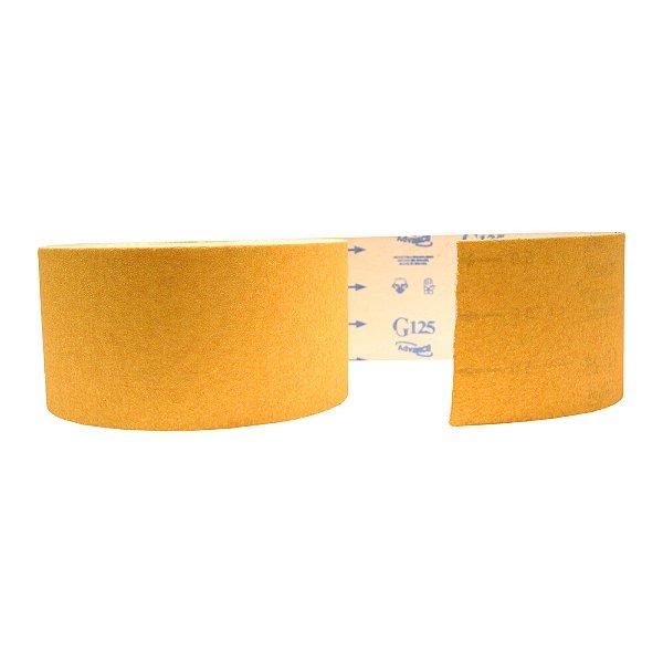 Pacote com 1 Rolo de Lixa Adalox Papel G125 Grão 50 Rolo 120 x 45 m