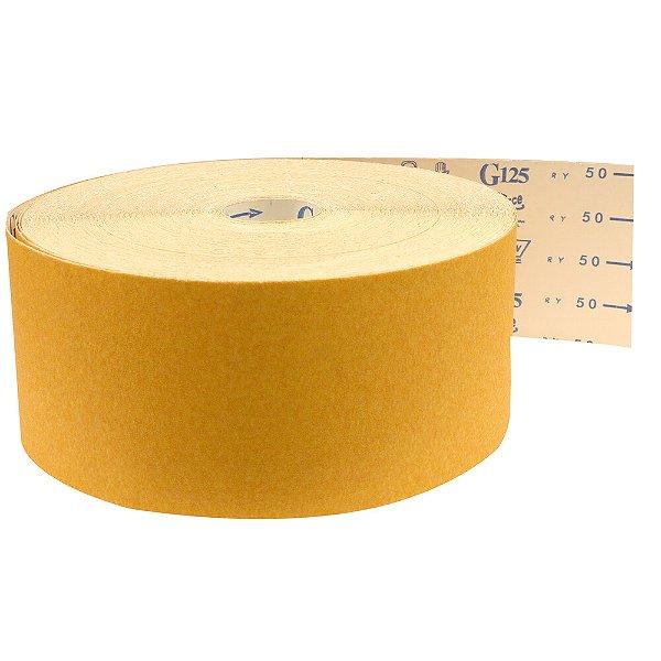 Pacote com 1 Rolo de Lixa Adalox Papel G125 Grão 50 Rolo 150 x 100 m
