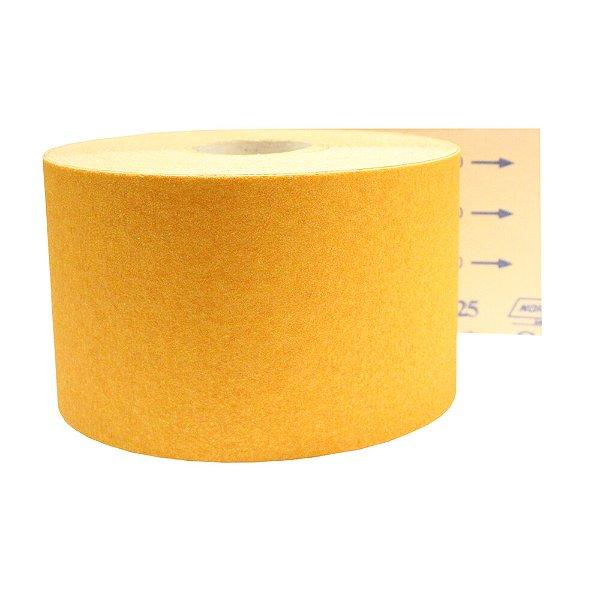 Rolo de Lixa Adalox Papel G125 Grão 50 Rolo 150 x 45 m Pacote com 1