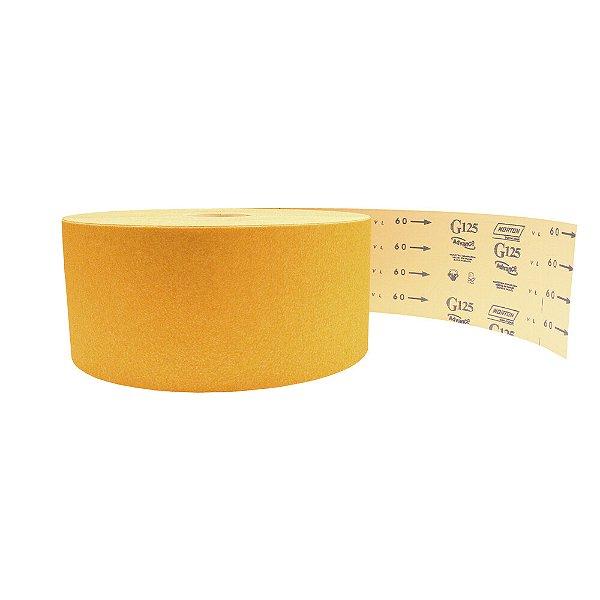 Pacote com 1 Rolo de Lixa Adalox Papel G125 Grão 60 Rolo 150 x 100 m