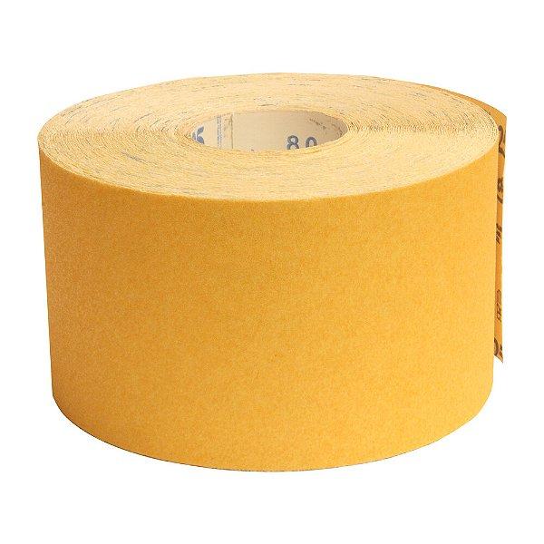 Pacote com 1 Rolo de Lixa Adalox Papel G125 Grão 80 Rolo 120 x 45 m