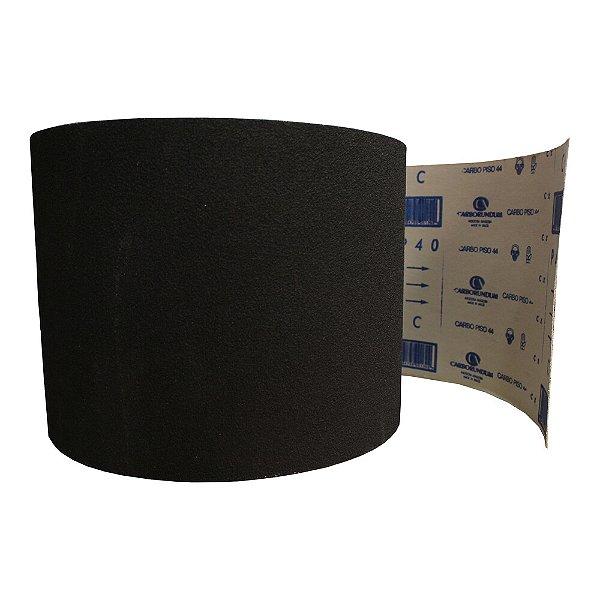 Pacote com 1 Rolo de Lixa Carbopiso CAR44 Grão 40 230 x 45 m