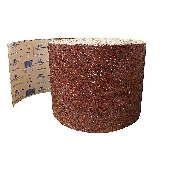 Pacote com 1 Rolo de Lixa Carbopiso CAR45 Grão 16 305 x 45 m