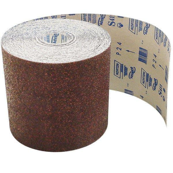 Pacote com 1 Rolo de Lixa Durite Assoalho S411 Grão 24 305 x 45 m