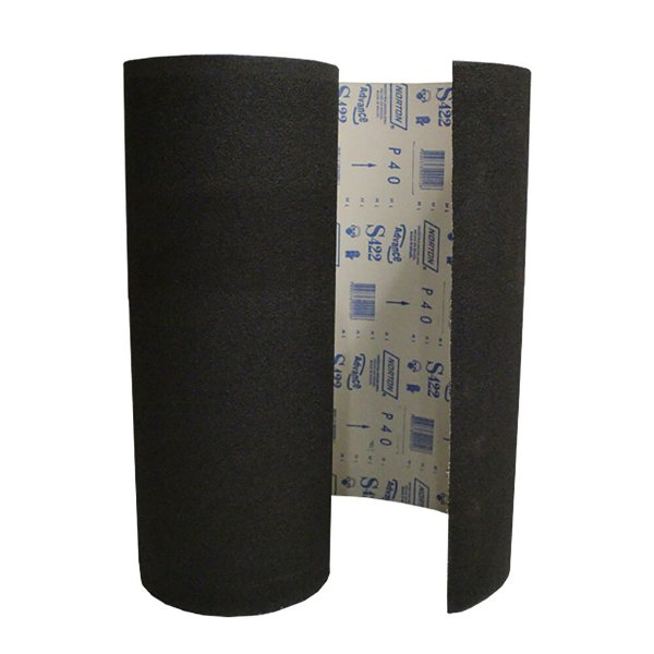 Caixa com 1 Rolo de Lixa Durite Assoalho S422 Grão 40 610 x 20 m