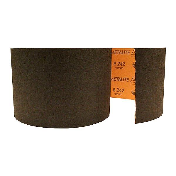 Rolo de Lixa Metalite R242 Grão 100 150 x 45 m Caixa com 4
