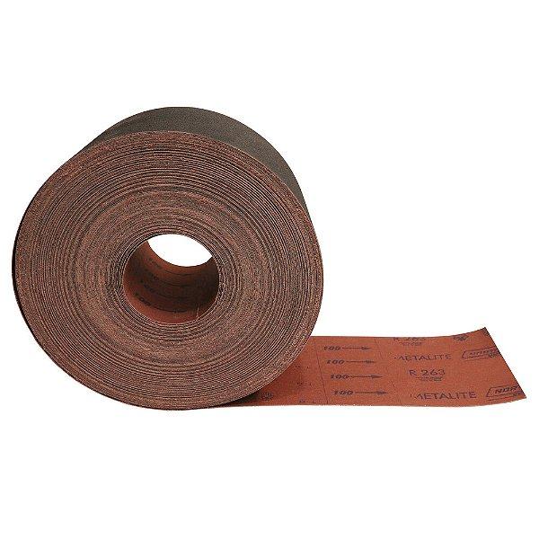 Rolo de Lixa R263 Grão 100 150 x 45 m Caixa com 2