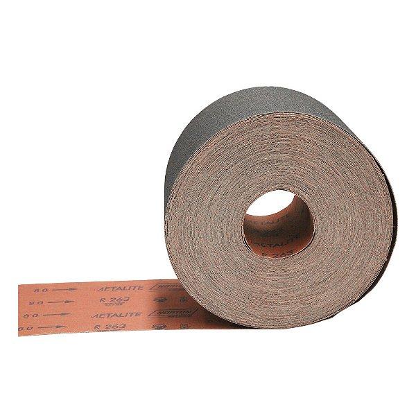 Rolo de Lixa R263 Grão 80 150 x 45 m Caixa com 2